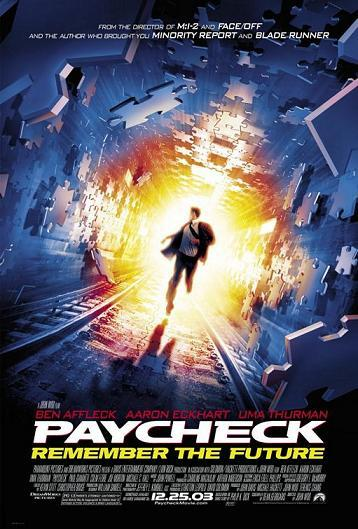Paycheck AC3 dvd rip XviD Rets preview 0