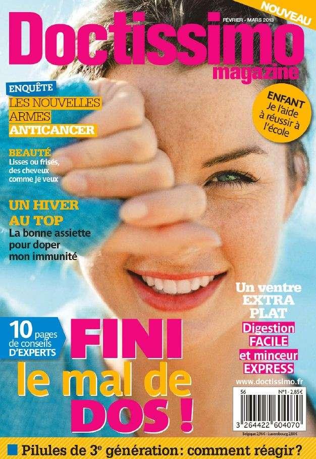 Doctissimo Magazine N°1 Février Mars 2013