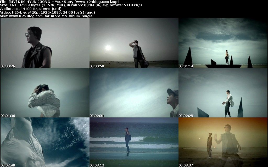 [MV] KIM HYUN JOONG   Your Story [HD 1080p Youtube]