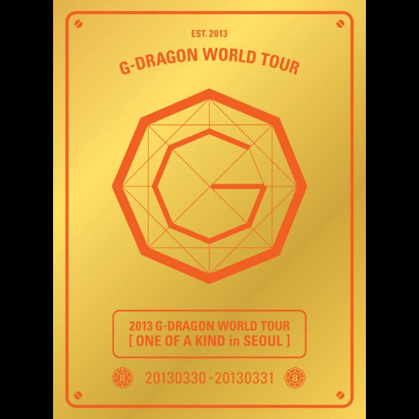 (Album) G-Dragon - 2013 G-Dragon World Tour 'One of a Kind in SEOUL' (Live) (MP3 + iTunes LP)