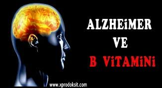 Alzheimer ve B Vitamini