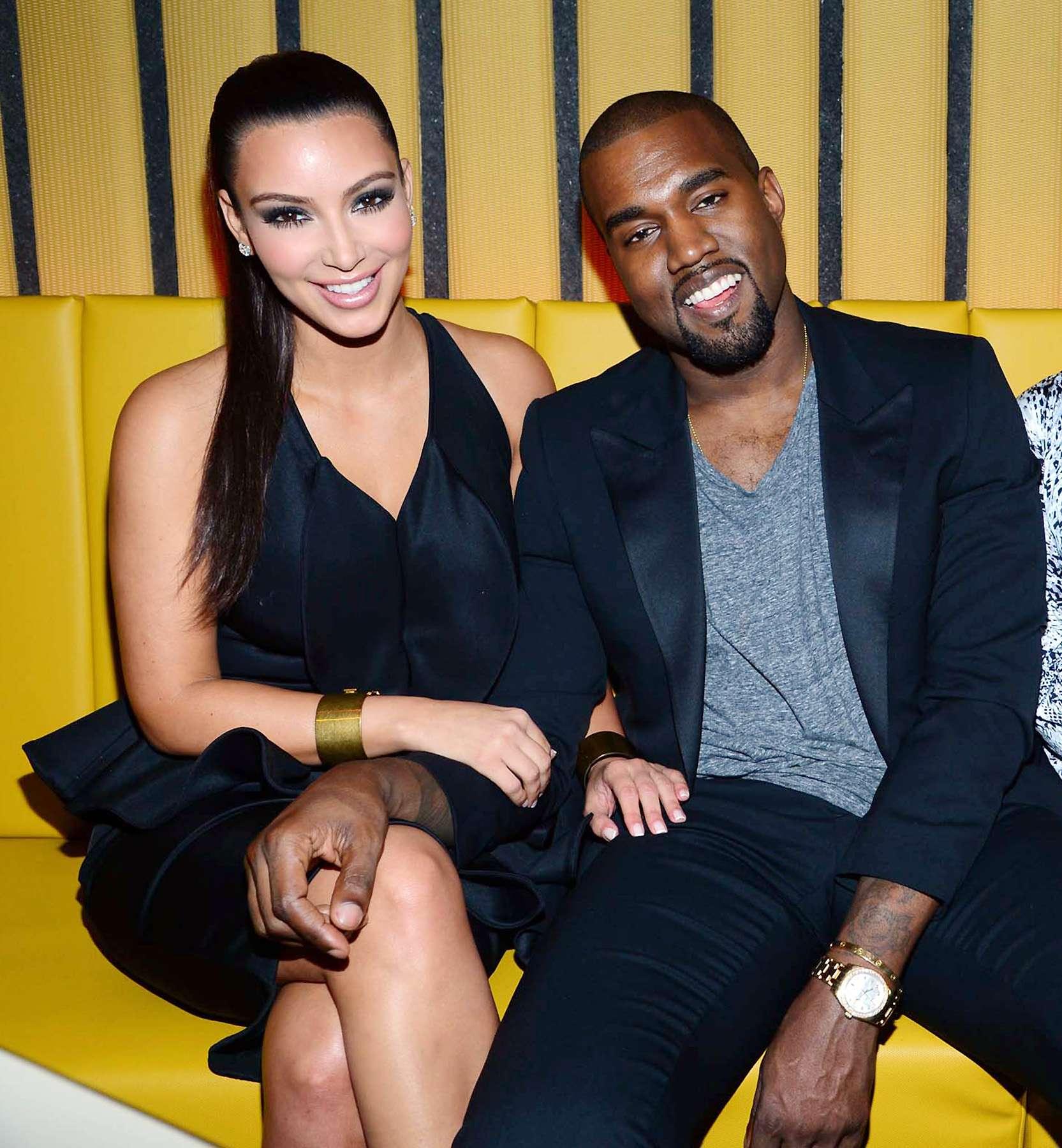 Kim Kardashian y Kanye West