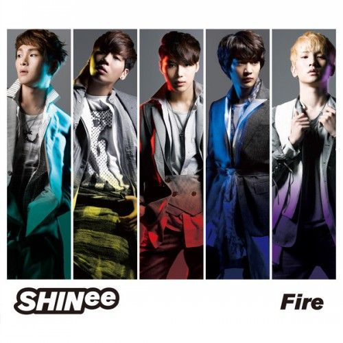 [Single] SHINee - Fire [Japanese]