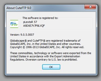 cuteftp 9 serial number free